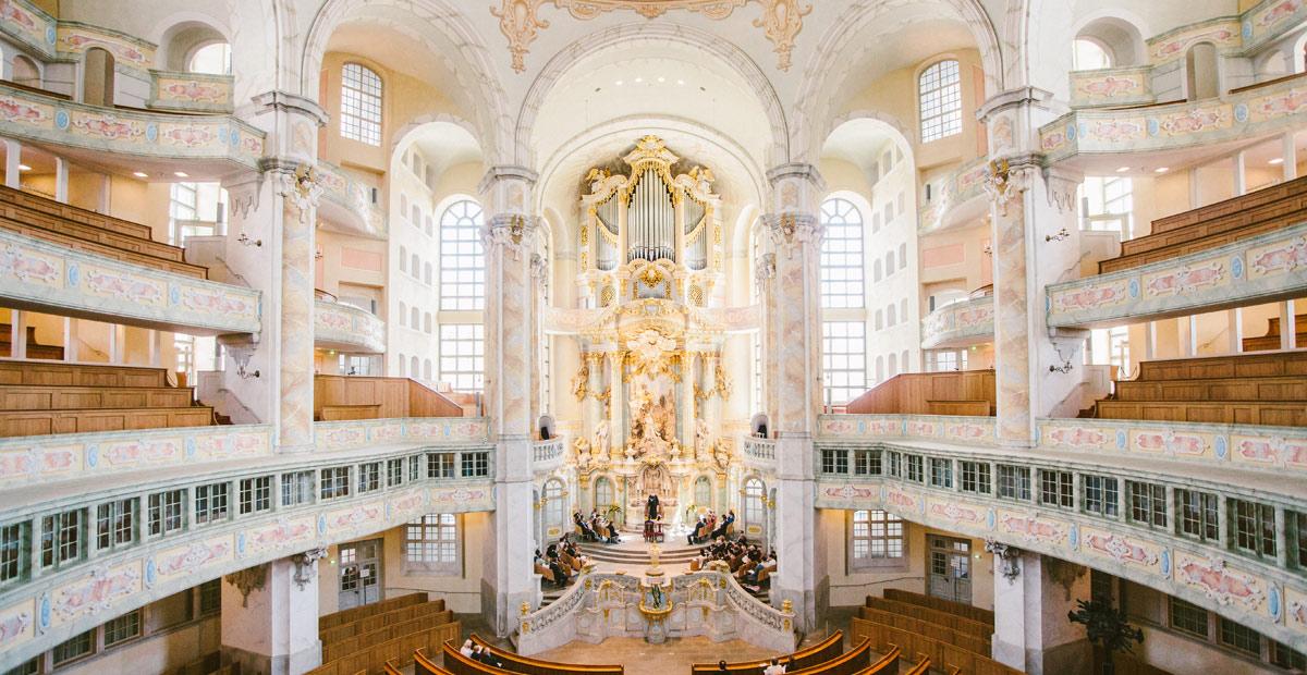 Hochzeitsfotografie Dresden Frauenkirche